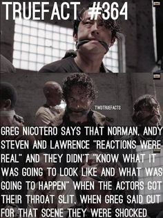TWD True Fact about The Walking Dead season 5 premiere!