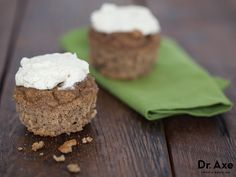 Cinnamon Buns with Cream Cheese Frosting  http://www.draxe.com #healthy #recipe #homemade #easy #glutenfree