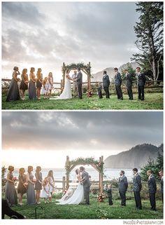 Wedding in the forest // Pacific City Oregon Wedding // Oregon Coast Wedding // Pacific City Wedding Photographer | Imago Dei Photography | Xiomara Gard