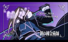 Olivier Armstrong - Fullmetal Alchemist