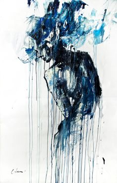 oil & acrylic Silvia Pelissero was born in 1991, Rome. She is an Italian painter best known as agnes-cecile. She went in an art high school in Rome, than she has continued as a self-taught. (c) Silvia Pelissero