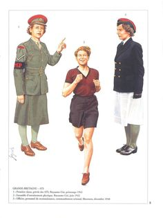 Pricing Guide of Military Books and Literature. Sold through Direct Sale: Mercenarios - uniforms of the soldiers of fortune - uniformes militares - blandford legion. Military Women, Military Police, Military History, Women's Land Army, Ww2 Uniforms, Female Soldier, Military Diorama, British Army, Wwii