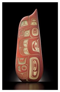 'Red Feather' (blown glass) by Preston Singletary. ⚪️Inuit / Tlingit / Haida : More At FOSTERGINGER @ Pinterest