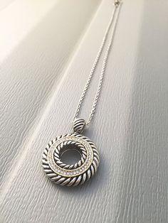 circle pendant, circle necklace, pendant, silver pendant, circle, silver necklace, eternity necklace, silver, pendant necklace,round pendant