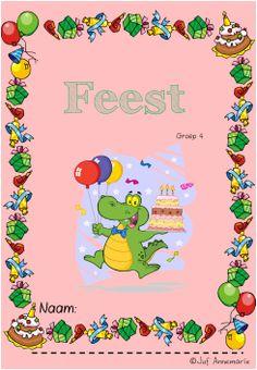 kinderboekenweek werkboekje feest