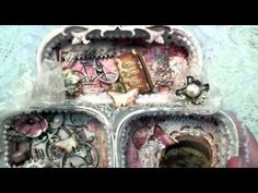 Altered Sardine Tins Shabby Chic - YouTube