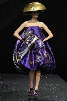 spring/summer 2008 haute couture #galliano #throwback