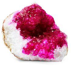 Drusy Quartz, Pink   Let the Light In   One Kings Lane