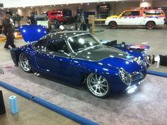Karman Ghia Viper V10 named Blue Mamba...interesting