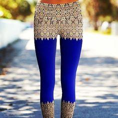Elegant lace Power Pants