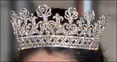 The Wied Family tiara. Has been worn by Princess Sophia Charlotte and Princess Christina zu Wied as a bride in 1996.