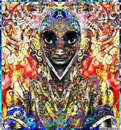 indian psychedelic art - Google zoeken