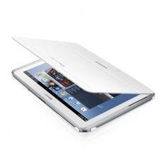 Etui typu Book Cover, dedykowane dla najnowszego Samsunga Galaxy Note 10.1. Chroń swóje urządzenie przed uszkodzeniami i złymi warunkami atmosferycznymi, dzięki oryginalnemu futerałowi Samsunga.  Produkt w kolorze bialym.