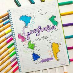 Bullet Journal Cover Ideas, Bullet Journal Banner, Bullet Journal Notes, Bullet Journal Writing, Bullet Journal School, Bullet Journal Inspiration, Lettering Tutorial, Hand Lettering, Schrift Design