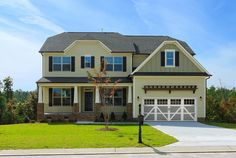 Model at Granite Falls in Rolesville, NC! New Homes in Raleigh, NC and surrounding areas!