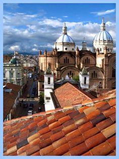 Felicidades Cuenca hermosa! Fundada por el español Gil Ramirez Dávalos Abril 4, 1557!!!