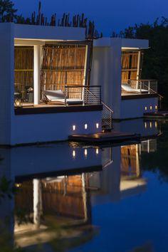 Deluxe Overwater Lagoon Suite Rosewood Riviera Maya Mexico