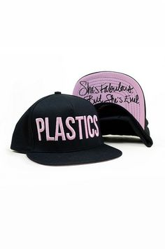 I love Mean Girls! Plastics hat. So cute WHERE CAN I FIND THIS!! I NEED IT!!