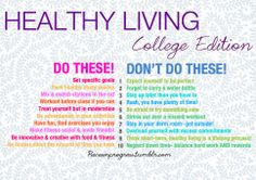 To get ready for back-to-school all week I'm doing a series of college-themed healthy living posts!