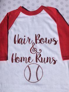 Baseball Sister Shirt by GACDesigns on Etsy Baseball Tshirt Ideas, Baseball Party, Baseball Season, Baseball Sister, Baseball Girls, Baseball Tees, Baseball Crafts, Softball Hair Bows, Softball Mom