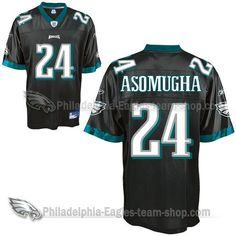 Nnamdi Asomugha Philadelphia Eagles Premier Jerseys