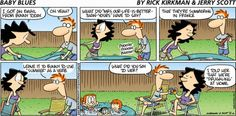Baby Blues comic for Aug/16/2015