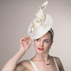 Fascinator Cocktails-Material  Sinamay Braid Headband. Crown Width  Dia. 11  inch 9542750d56e