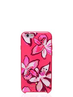 tiger lily iphone 6 case, surprise coral