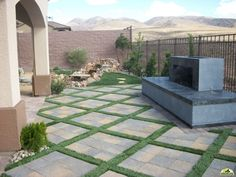 The Greencare Guys are the only choice for landscaping with over 20 years in landscape design experience! Landscape design Las Vegas can trust There are sometimes concerns from clients regarding issues Backyard Arizona, Desert Landscaping Backyard, Landscaping Las Vegas, Backyard Garden Design, Modern Landscaping, Front Yard Landscaping, Backyard Ideas, Backyard Makeover, Gardens
