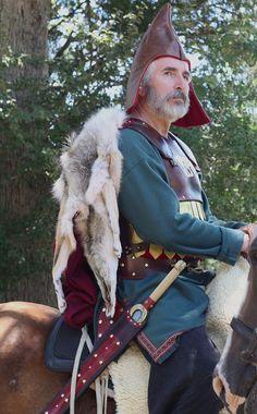 Scythian warrior on horseback