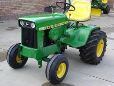 Planting Seeds – The Tilled Garden John Deere Garden Tractors, Jd Tractors, Small Tractors, Compact Tractors, Antique Tractors, Vintage Tractors, Small Garden Tractor, John Deere Equipment, Tractor Pulling