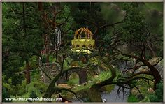 Sims 3 Finds - Little house of the wood elves by Alisa17 at Sims 3 Models