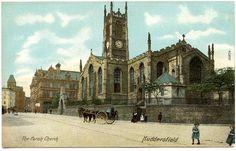 Huddersfield Parish Church-Looks so different now. Huddersfield Yorkshire, Huddersfield Town, West Yorkshire, Leeds, Notre Dame, Apartments, Worship, United Kingdom, Classy