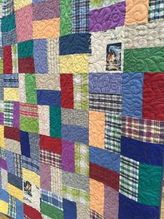 Memory Quilt Keepsake Quilt Memory Blanket Quilt by EggMoneyQuilts