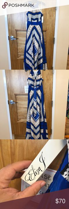 Eliza J maxi NWT Never worn. Silky material make an offer Eliza J Dresses Maxi