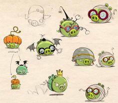 angry birds concept art - Buscar con Google
