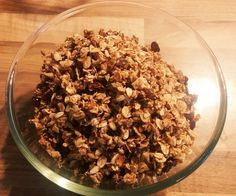 Knuspermüsli selber machen ohne Zucker