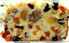Receita de Bolo de Frutas Ingredientes: 2 1/2 xícara (chá) de farinha de trigo 1/2 xícara (chá) de maizena 1 xícara (chá) de manteiga 2 xícara (chá) de açúcar 1 xícara (chá) de leite 3 gemas 3 cla…