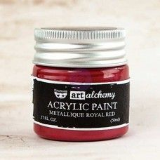 Prima - Art Alchemy - Metallique - Royal Red