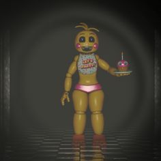Hi! Im toy chica! Im not sure what to say about myself lol. Well, my best friends are Toy Freddy and Chica. I also have instagram. Um, thats all i have for now. Ill update this pin every now and then about me. :) :3