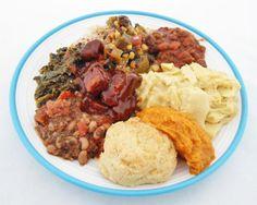 Soul Food Menu   The Chefs: Rashida and Souley Vegan , with help from Lyndsay