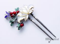 Korean Traditional Hairpin 모던한 액세서리 + 전통 한복의 매칭