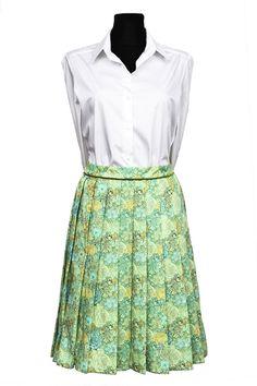 #Skirt in #LibertyLondon #Dulwich Park Tana Lawn  by DressbyGS #SewLiberty