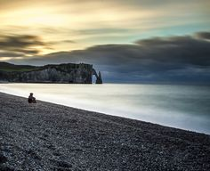 Etretat by les photos du seb on 500px #normandie #etretat #sunset Waves, Mountains, Sunset, Nature, Outdoor, Photos, Normandie, Outdoors, Naturaleza