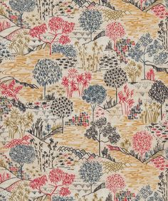 Sabrina #LibertyPrint is a design inspired by papyrus, bamboo, eucalyptus and rubber. These life-changing plants had huge significance for ancient societies and still do today. The original sketch was hand painted in ink on genuine papyrus and inspired by the decoration of the Oriental artefacts at the Victoria and Albert museum: http://www.liberty.co.uk/fcp/product/Liberty/Sabrina-B-Tana-Lawn-Cotton-/106501
