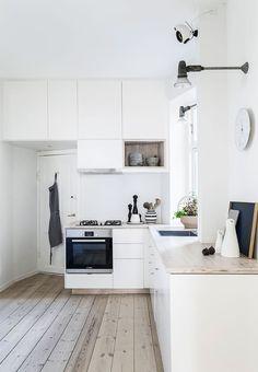 Enkelt og smukt køkken