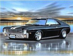 69 AMC Muscle Car