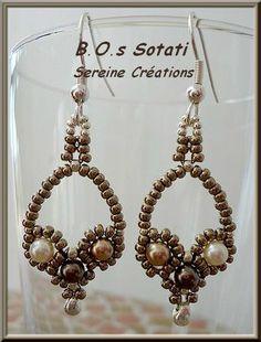 Bracelet Sotati - Cartons, perles et tissus... dans le désordre!