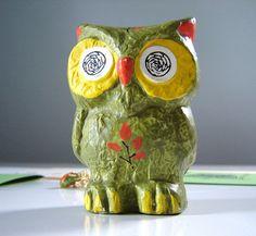Japanese owl bank