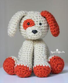 Plush Puppy - Free Crochet Pattern #crochet #amigurumi